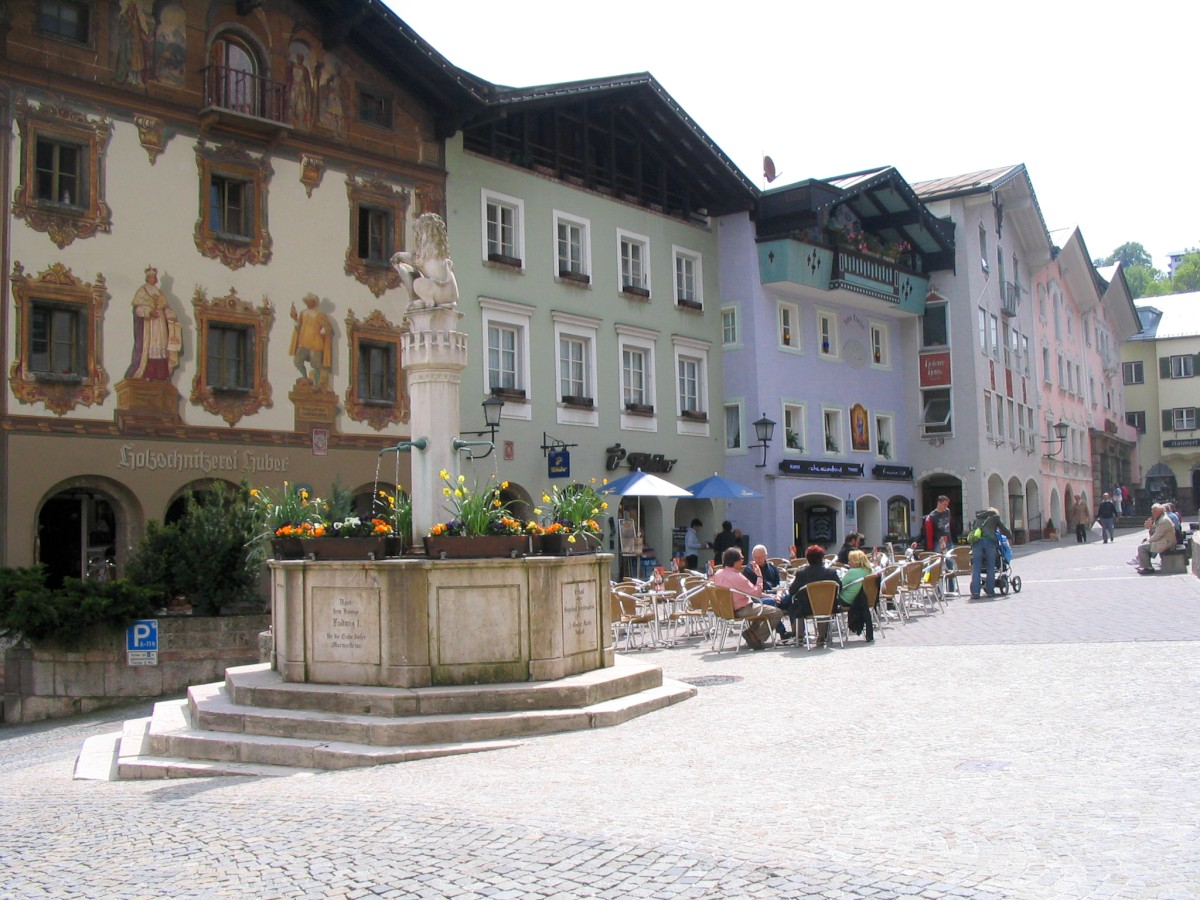 Zentrum Markt Berchtesgaden